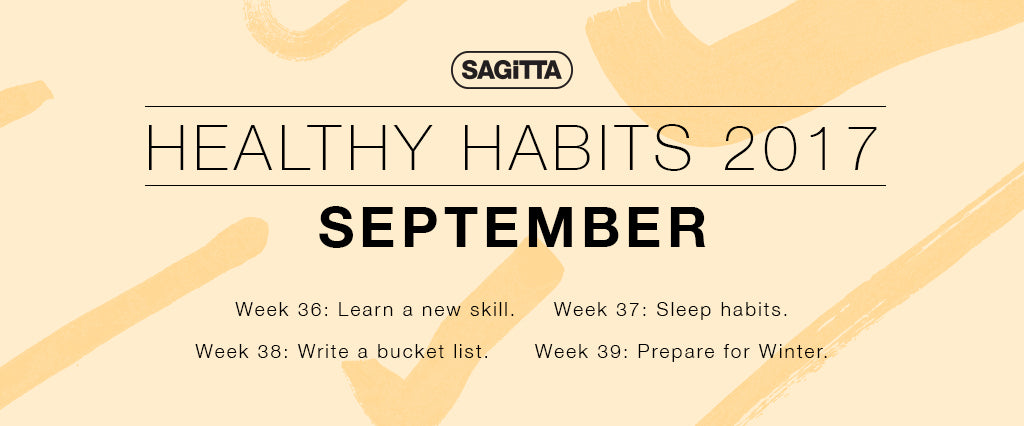 Healthy Habits 2017 | September