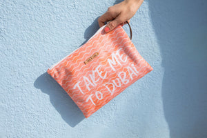 Take me to Dubai bikini bag