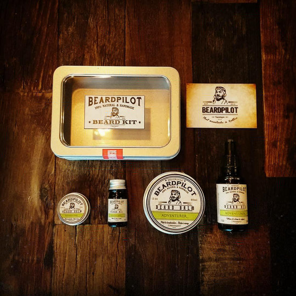 Adventurer Beard Kit