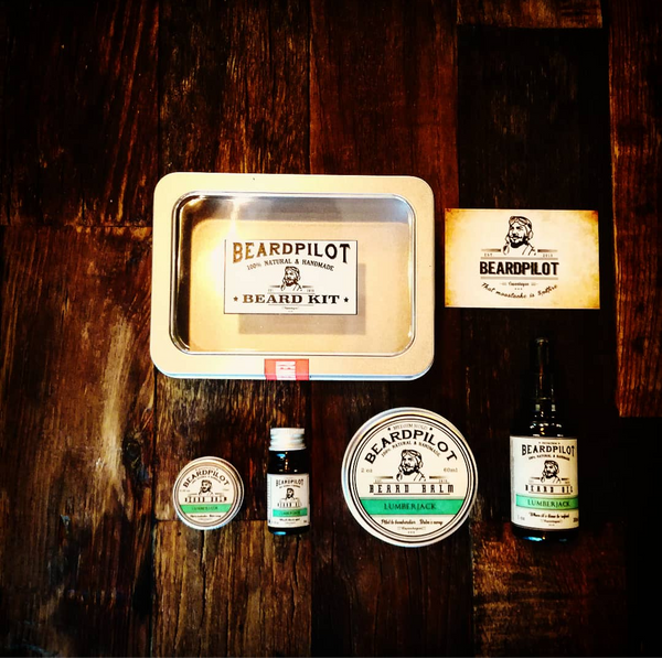 Lumberjack Beard Kit