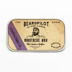Connoisseur Moustache Wax Style Beard