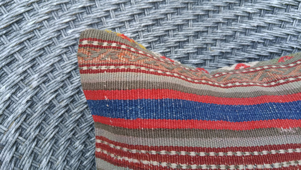 "Set of 2 Kilim Pillows  16""x16"" 40cmx40cm"