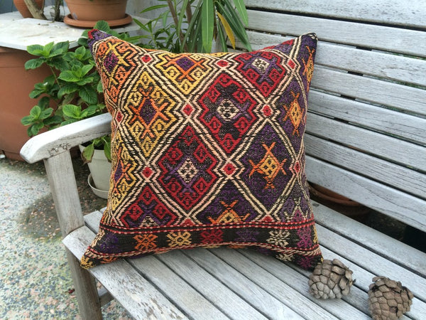 Set of 2 Kilim Pillows