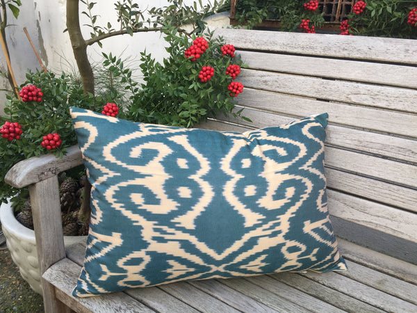 "Ikat Pillow 16""x24"""