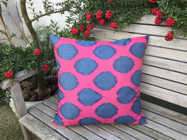 "Ikat Pillow 20""x20"""