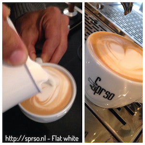 Wat is een flat white