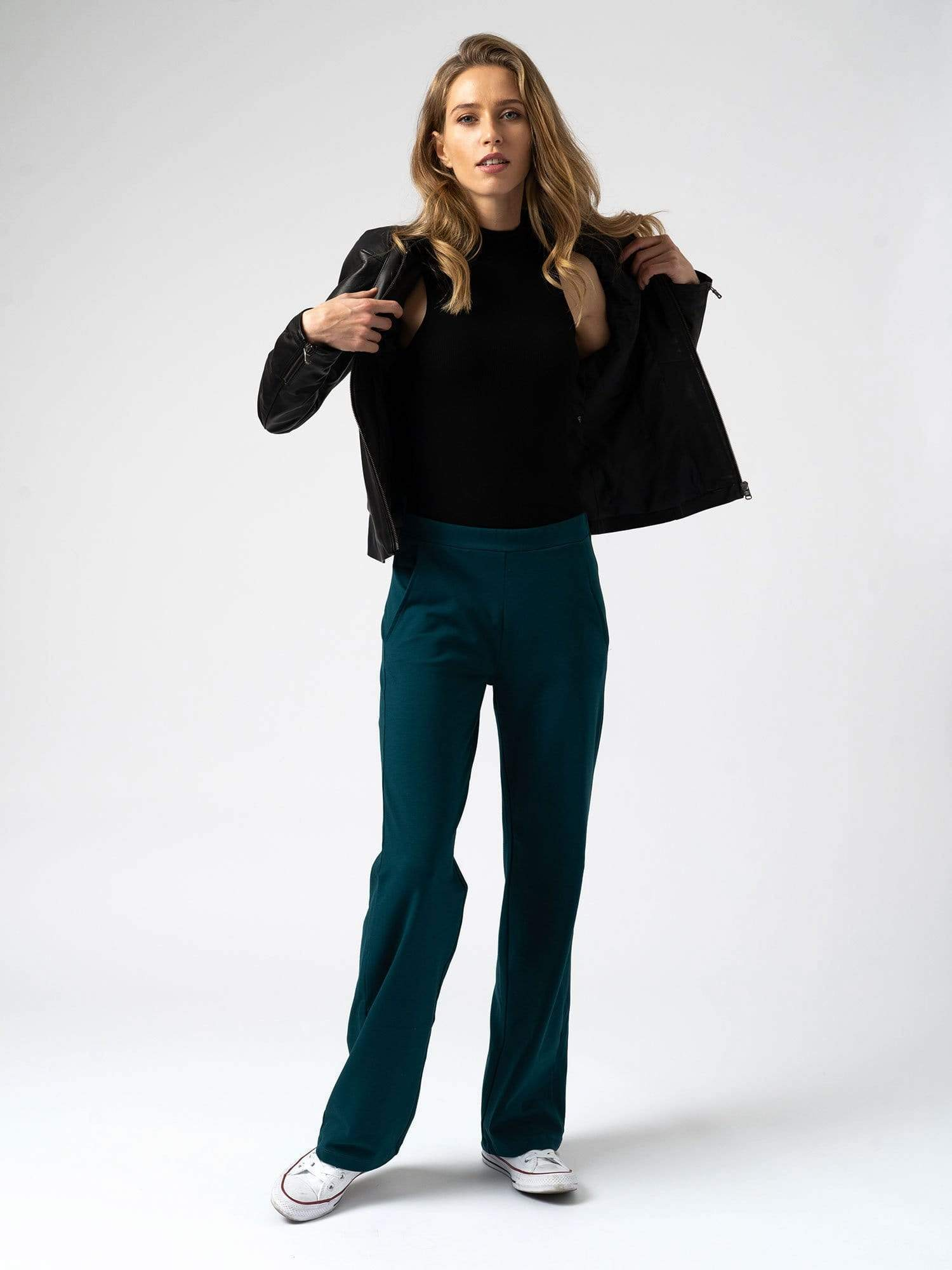 Apartment Pant in Deep Teal
