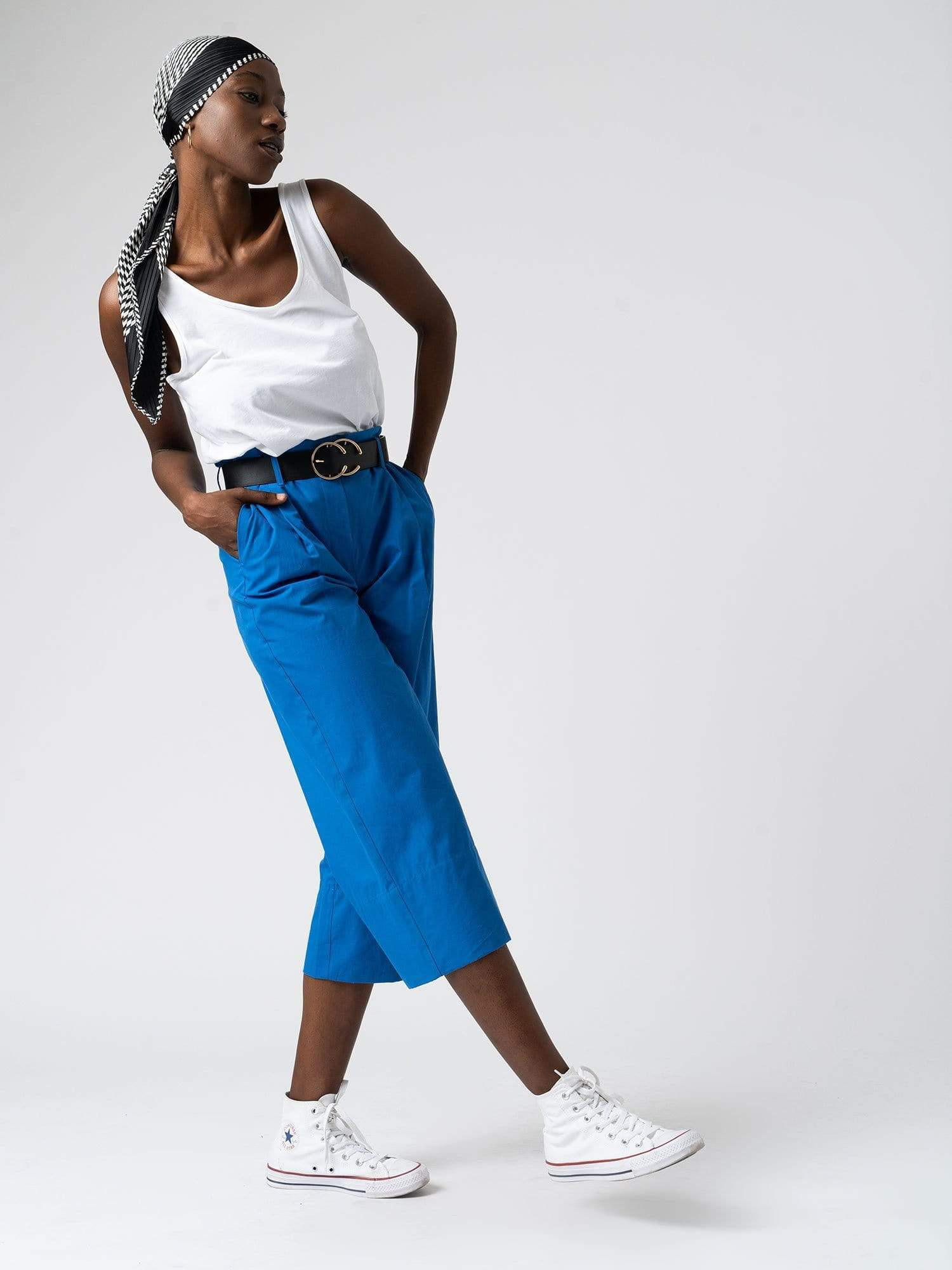 Shoreditch Culotte Blue