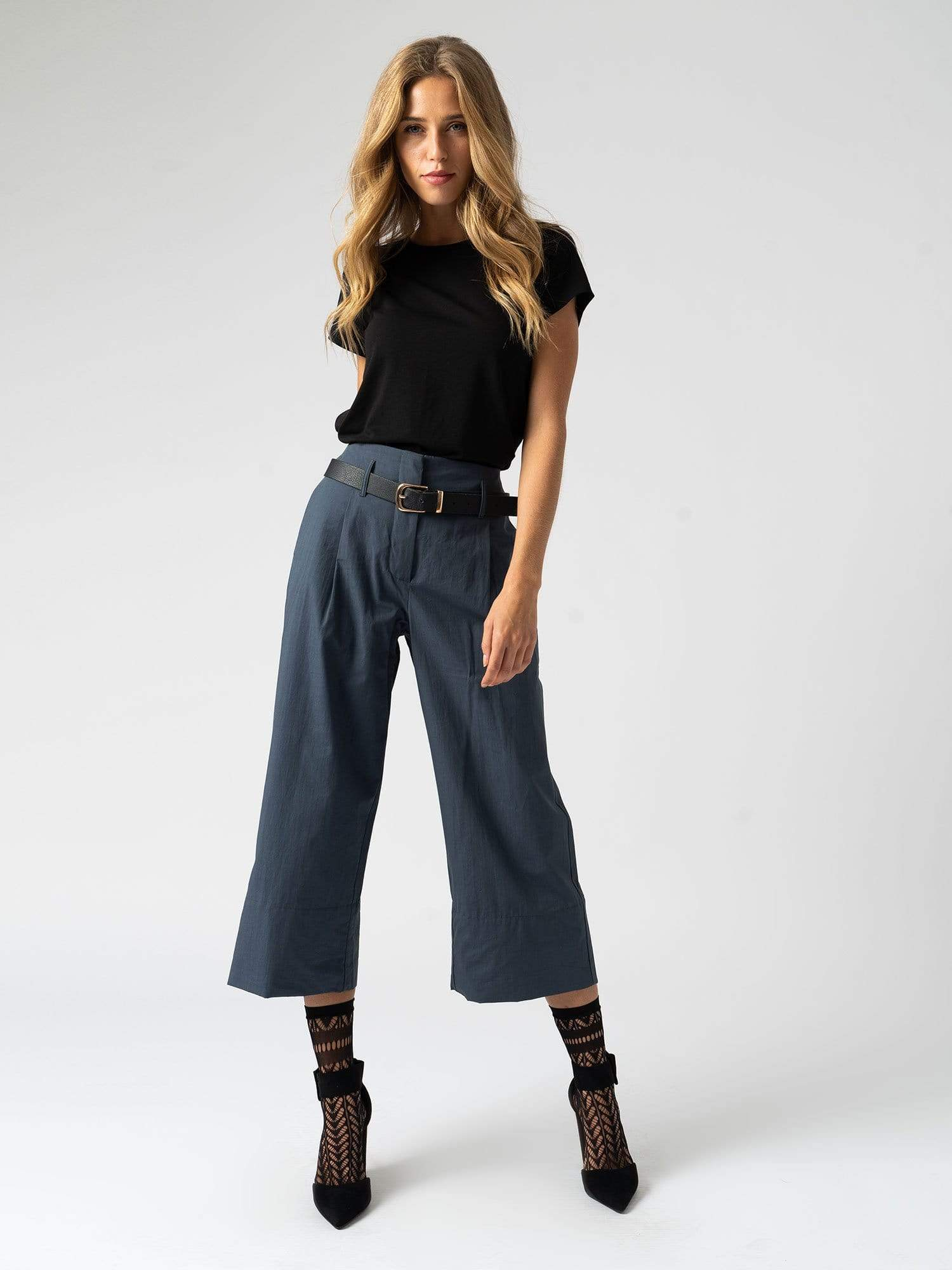 Shoreditch Culotte Navy