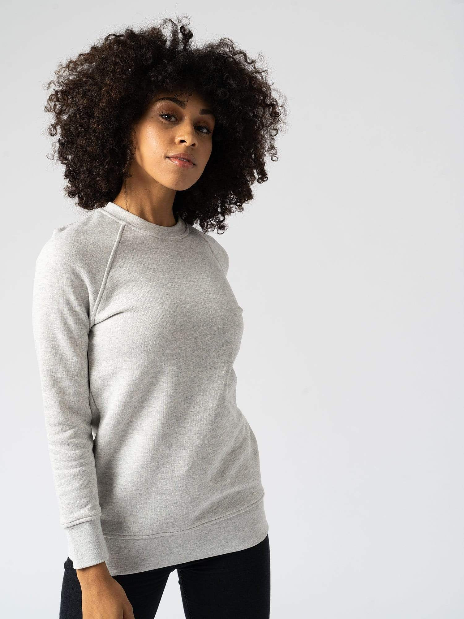 Cotton Sweater Gray