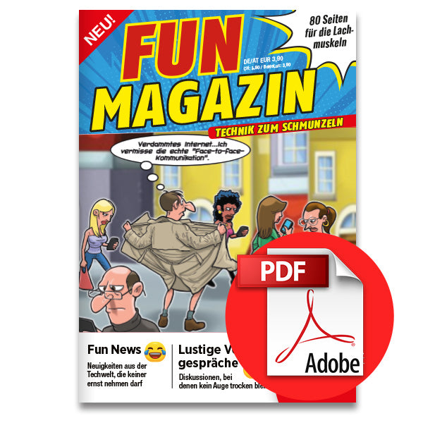 Aktion: Fun Magazin - Technik zum Schmunzeln [digital]