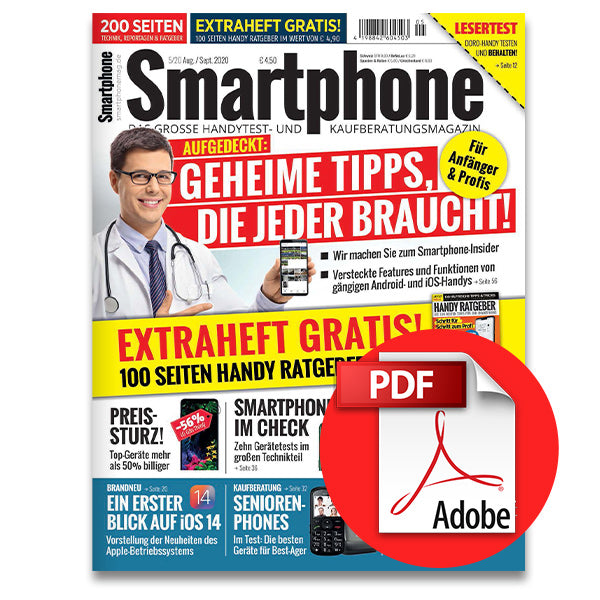Smartphone Magazin August-September 2020 (5/20) [digital]