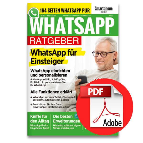 Aktion: WhatsApp Ratgeber 1/20 (März-Mai 2020) [digital]