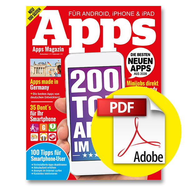 Aktion: Apps Magazin - ePaper 1/20 [digital]