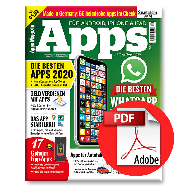 Apps Magazin - Juli bis Sept. (2/20) [digital]