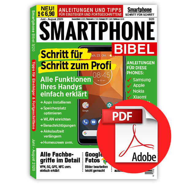 Smartphone Bibel 3/19 - Juni bis August [digital]