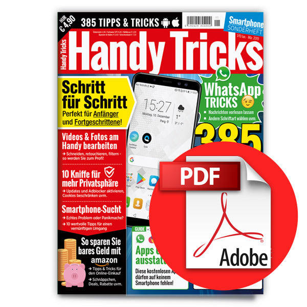 Smartphone Handy Tricks 1/2019 [digital]