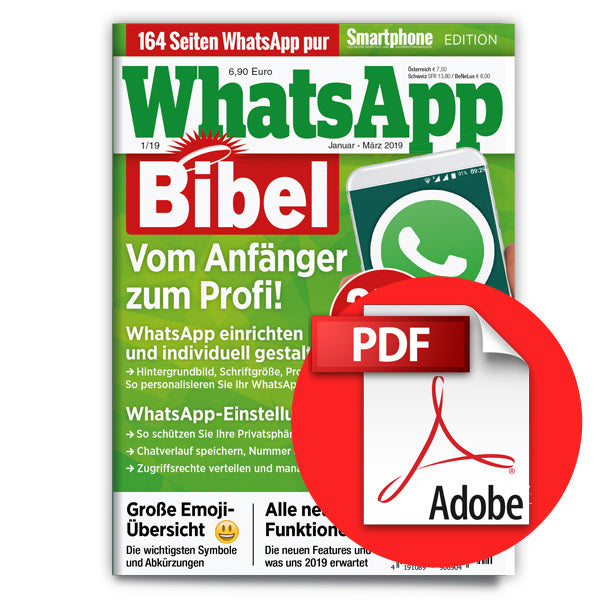WhatsApp Bibel - Smartphone Edition 1/2019 [digital]