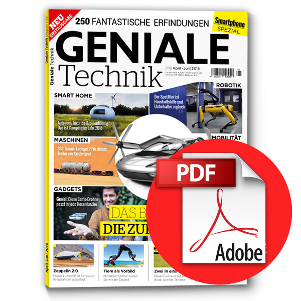 Geniale Technik Magazin 1 [digital]