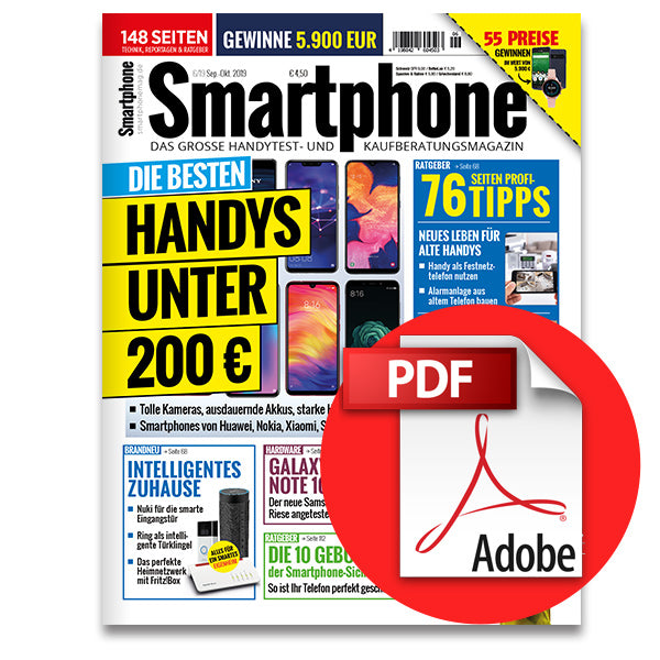 Smartphone Magazin September-Oktober (6/2019) [digital]