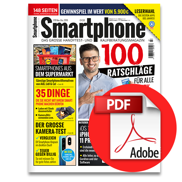 Smartphone Magazin November-Dezember (7/2019) [digital]