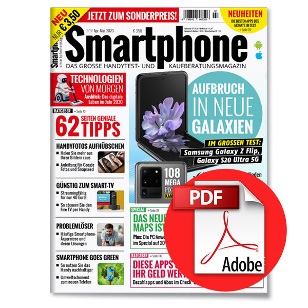 Smartphone Magazin April-Mai 2020 (2/20) [digital]