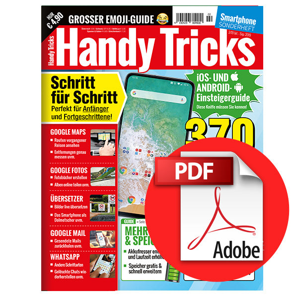 Handy Tricks, Juli-September 2019 - Smartphone Sonderheft [digital]