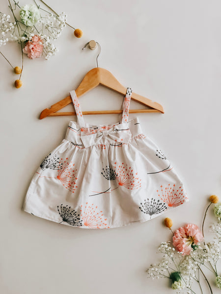 Sweet Dandilion Summer Bow Dress