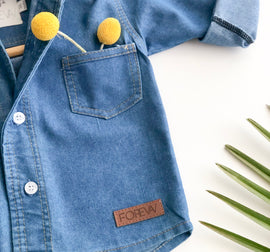 Trendy Denim Shirt