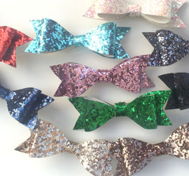 Chunky Glitter Bows