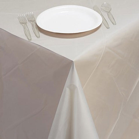 54 x 108 Plastic Tablecover Clear/Case of 12