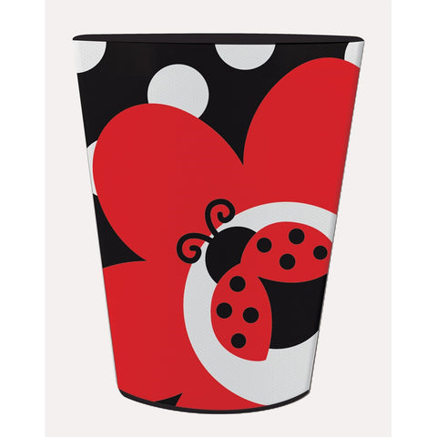 16 Oz Plastic Keepsake Cup Ladybug Fancy/Case of 12