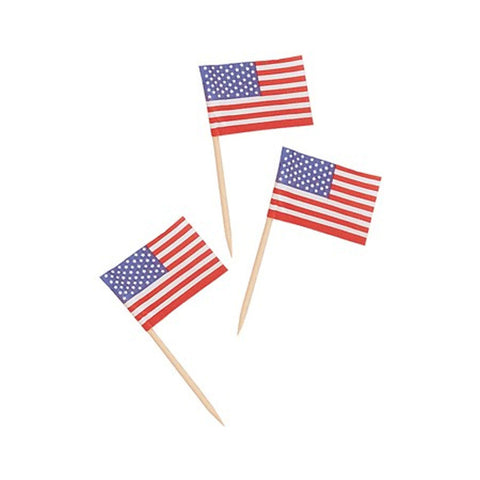2.5 inch Flag Picks US/Case of 600