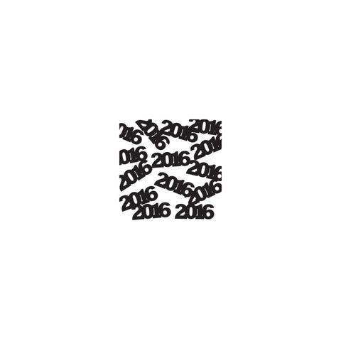 2016 Black Confetti/Case of 12
