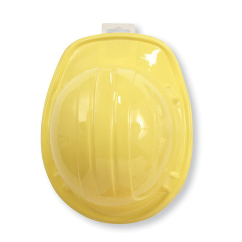 Under Construction Hard Hat Yellow Plastic Child Size/Case of 12