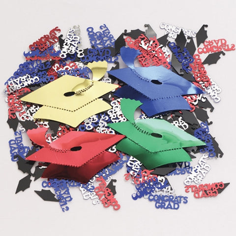 Mortarboards Oversized Confetti/Case of 12