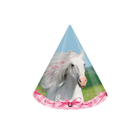 Heart My Horse Child Size Paper Party Hats/Case of 48