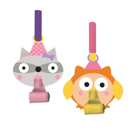 Happi Woodland Girl Blowouts with Medallion/Case of 48