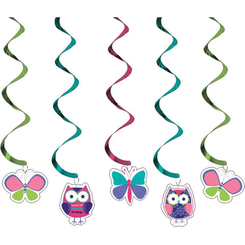 Dizzy Danglers Owl Pal Birthday/Case of 30