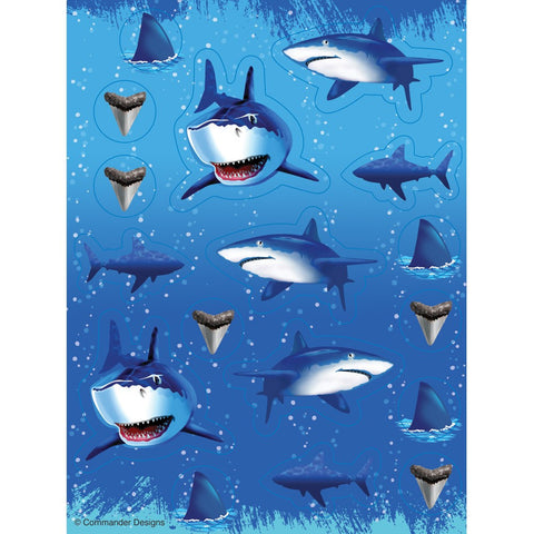 Shark Splash Value Stickers/Case of 48
