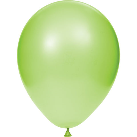 12 inch Solid Latex Balloons Fresh Lime Fresh Lime/Case of 180