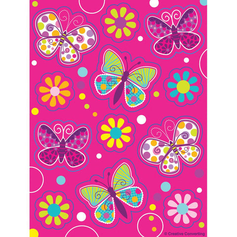 Butterfly Sparkle Value Stickers/Case of 24