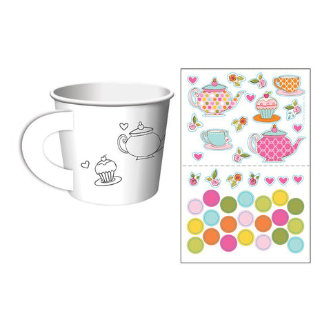 Tea Time Kids Activity Treat Cups/Case of 72