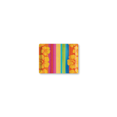 10 x 14 Inch Sunset Stripes Plastic Rectangular Tray/Case of 12