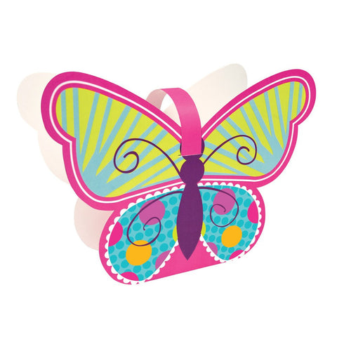 Butterfly Sparkle Treat Boxes/Case of 24
