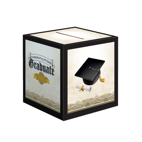Cap & Gown Card Box/Case of 6