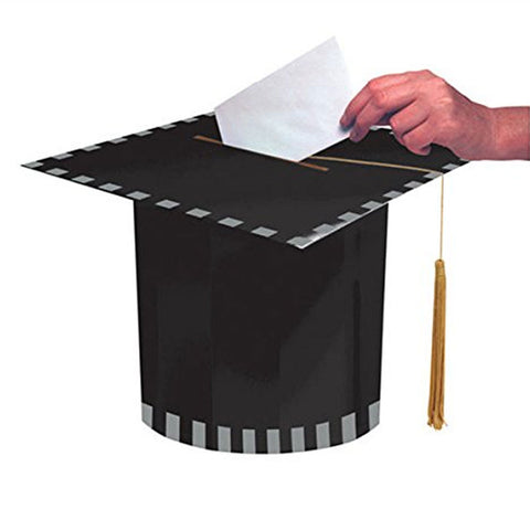 Mortarboard 8.4 Inch x 11 Inch Shaped Card Box/Case of 6