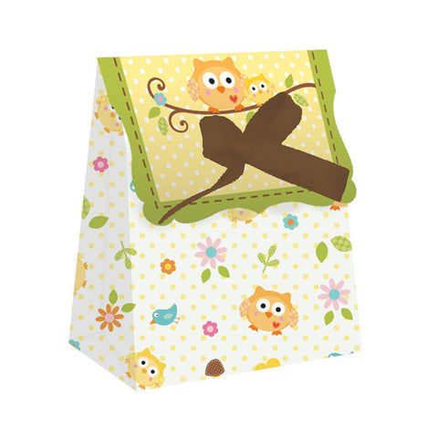 Happi Tree Plastic Favor Bags Diecut with Ribbon/Case of 72