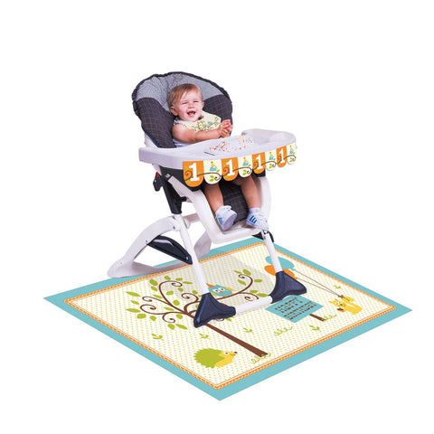 Happi Woodland Boy High Chair Kit/Case of 6