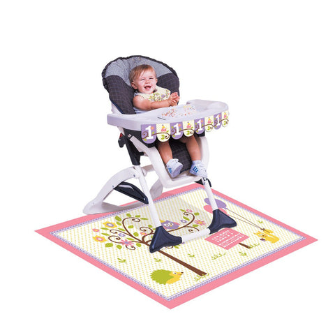 Happi Woodland Girl High Chair Kit/Case of 6